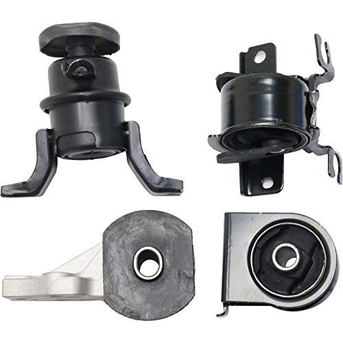 Motor and Transmission Mount Kit compatible with Ford Escape 05-12