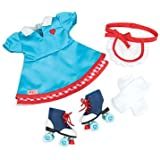 Our Generation 18-Inch Soda Pop Sweetheart Deluxe Retro Doll Outfit