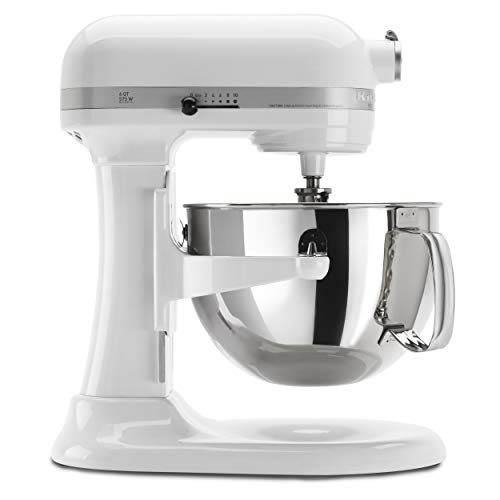 KitchenAid KP26M1XWH 6 Qt. Professional 600 Series Bowl-Lift Stand Mixer - White from KitchenAid