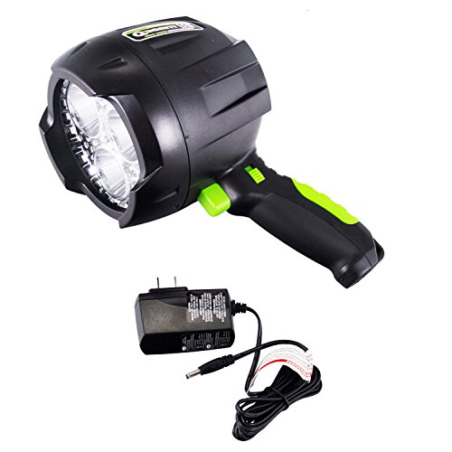 Spotlight Q-beam Brinkmann (Brinkmann Qbeam LED Night Vision Rechargeable Spotlight Offroad Automotive/Garage /Emergency/ Boating/Fishing/Hunting/Camping/Hiking/Patrolling 800-5002-0)