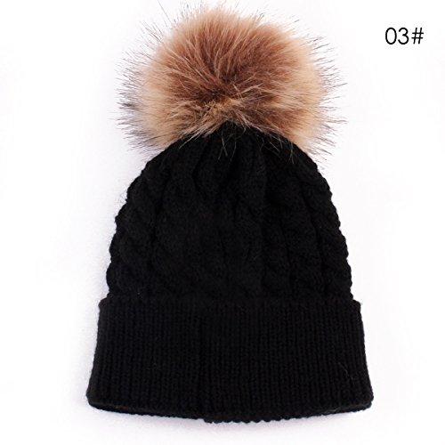 Oenbopo Baby Winter Warm Knit Ha...