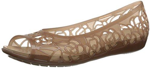 Femme bronze W Crocs Jelly Ballerines Isabella Or vwgq0I