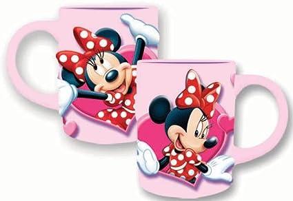 Mouse 3d Disney 14ozMug Relief Minnie Heart dCWrxBeEQo