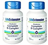vitamin b pur - Life Extension Bio-Active Complete B-Complex, 60 Vegetarian Capsules (2)