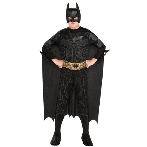 Batman Products : Batman Dark Knight Rises Child's Batman Costume with Mask and Cape