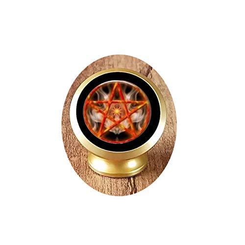 Pentagram Witchcraft 1 Magnetic Car Phone Mount Holder]()