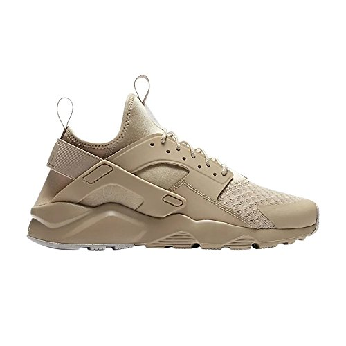 NIKE Men's Huarache Run Ultra Running Sneaker Size 11 Mushroom/Mushroom