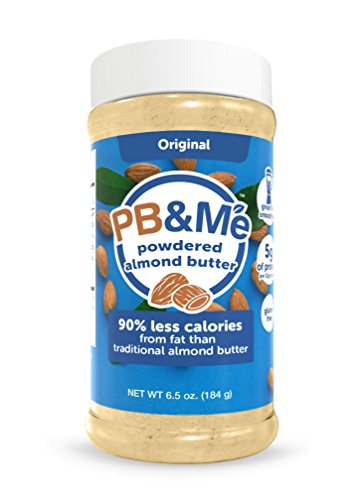 PB&Me Powdered ALMOND Butter - Original, 6.5oz (Pb Powdered)