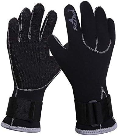 iHOMIKI Dive Guanti Swim Gloves 3mm Neoprene Scuba SnorkelingAnti Scratch Tenere Pesca Subacquea Caldo Muta Inverno Materiale Swim