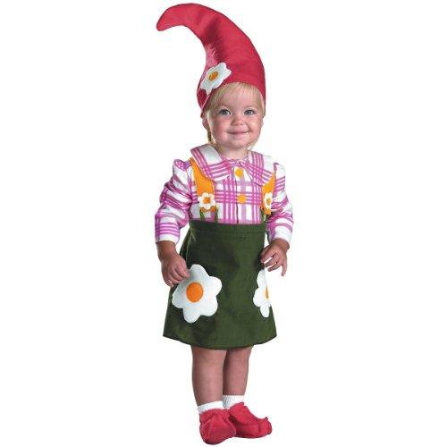[Flower Garden Gnome Costume, 12-18 months] (Unique Halloween Costumes Baby)