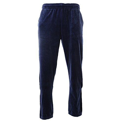 (Fila Men's Velour Pants Navy Small 31)