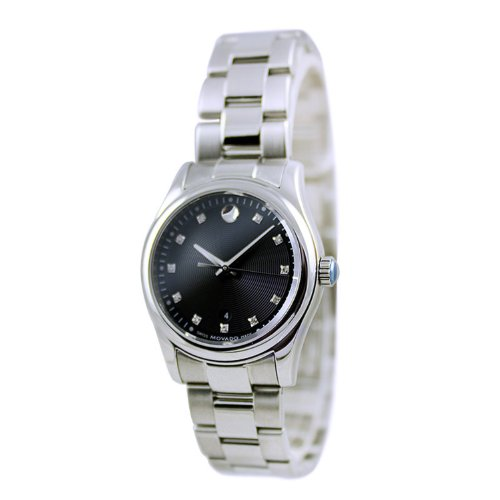 Women Watch Movado 606497 Sportivo Sportivo Diamonds Stainless Steel Case and Br