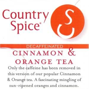 Cinnamon Orange Sugar - Country Spice Cinnamon Orange Looseleaf Tea (Decaf)