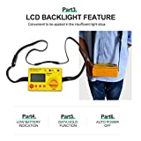 ALLOSUN Audio Impedance Tester Digital LCD
