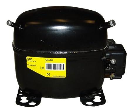 MOTOR COMPRESOR FRIGORIFICO DANFOSS SECOP SC15G 1/2 GAS R134 ...