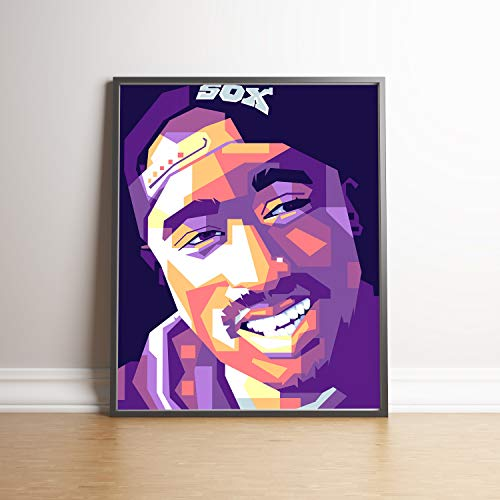 Tupac Limited Edition Poster Wall Art Wall Merchandise (Additional Sizes) (8×10)