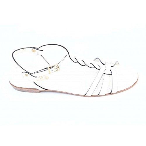 Sandalo Flat Da Donna Tods Xxw0md0a060297b001 Bianco