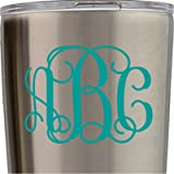 Monogram Stickers Yeti Cups Sale Deals From SheKnows - Stickers for yeti cups