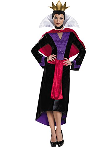 Disguise Women's Evil Queen Deluxe Adult Costume, Multi, Large -