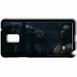 Personalized Samsung Note 4 Cell phone Case/Cover Skin 10000 bevor christ movies Black WANGJING JINDA