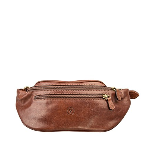 Maxwell Scott Personalized Premium Quality Leather Bum Bag (Centolla) by Maxwell Scott Bags