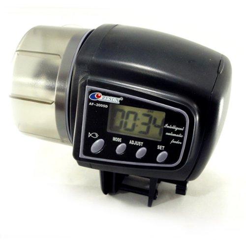 PPbean Small size LCD Automatic Auto Aquarium Tank Fish Food Feeder Feeding 4 Times Timer by PPbean