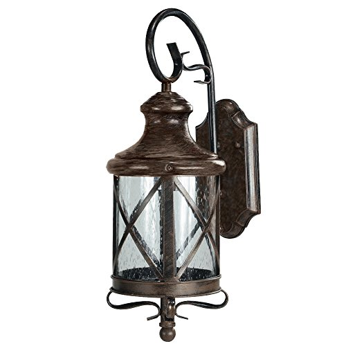 ETOPLIGHTING Lux Collection Exterior Outdoor Lantern Light with Rain Glass, Wall Lantern APL1074