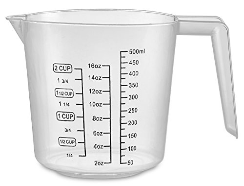 plastic 2 cup measuring cup - 7