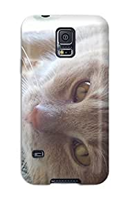 High Impact Dirt/shock Proof Case Cover For Galaxy S5 (happy Cat )