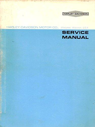 1965 to 1970 Harley-Davidson M Models, 1965 Model M-50, 1966 Models M-50 and M-50S, and 1967-1970 Models M-65 and M-65S (Leggero), and 1968-1970 Model M-125 (Rapido). Service Shop Repair Workshop Manual, Part Number 99498-70