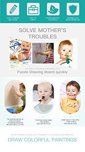 Magna Doodle,Upgrade Magnetic Drawing Board Travel Size Toddlers Toys Colorful...