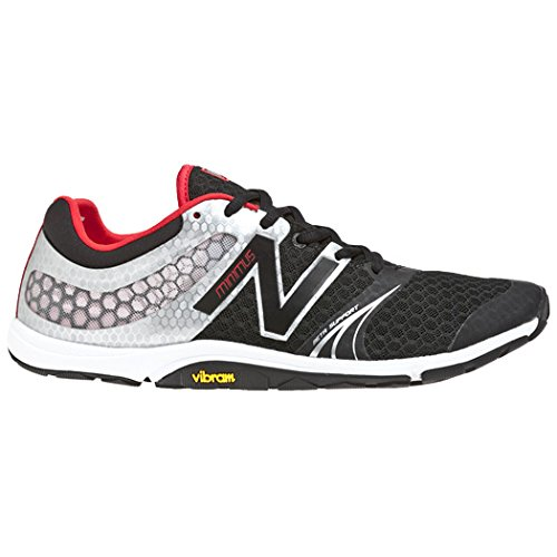 New Balance Men's MX20 Minimus Cross-Training Shoe,Black/Silver,11 D US