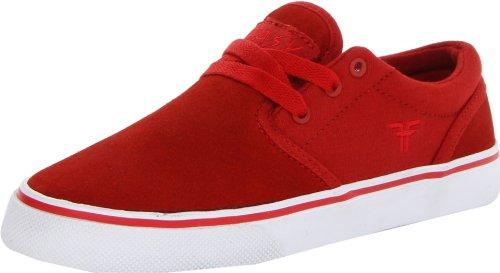 Fallen THE EASY 41070056 - Zapatillas de skate de ante para hombre Blood Red