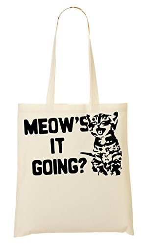 Fourre Cute Kitten À CP Meow'S Sac Provisions Going It Tout Sac wtwY1I