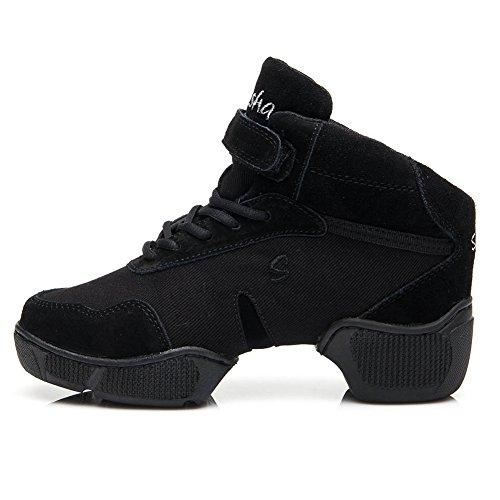 Donna Moderne Swdzm scarpe Hop Ballo Da sportive Hip Scarpe Jazz Esterno b57 Nero1 It scarpe Moderne scarpe r1qItr