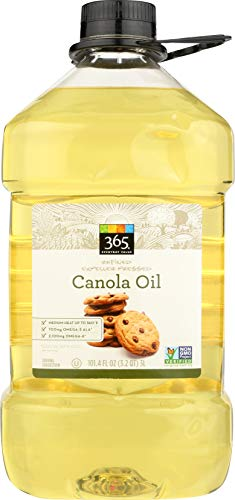 - 365 Everyday Value, Canola Oil, 101.4 fl oz