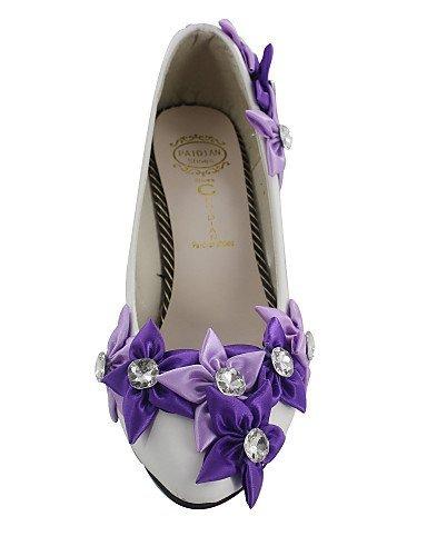 ShangYi Women's Shoes Stiletto Heel Heels Pumps/Heels Wedding White Nep6f7z