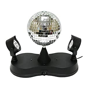 Creative motion mirror ball with twin for Mirror projector review