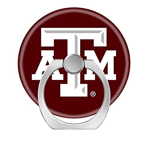 Texas A&m University Pedestal - Lovesup Expanding 360 Rotation Cell Phone Socket Ring Holder,Mobilephone Kickstand Pop with Car Mount Grip for All Smartphones,Cases,Tablets-Texas A&M University
