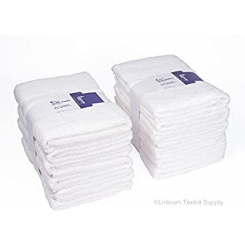 12 New White Cotton Hotel Bath Towels 20x40 Royal Regal Brand durable service