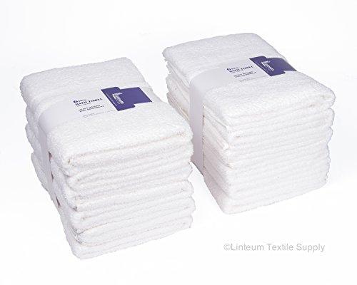 Linteum Textile 100% Cotton Hotel-Quality HAIR TOWELS 20x40