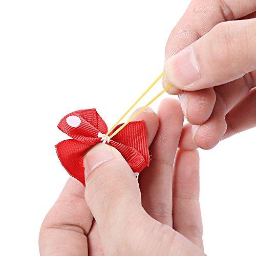 Accessoires Pour Animaux Étrave Coiffure Animal Coiffure Pantalon Tête Fleur Couleur Fleur Tête De Chien Au Hasard