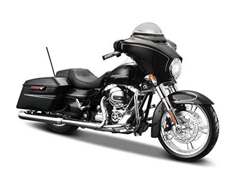 Harley-Davidson street Glide Special, black, 2015, Model Car,, Maisto 1:12