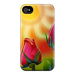 Cometomecovers Cases Covers Protector Specially Made For Iphone 6 3d Red Roses