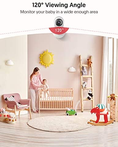 41gQ8us0mcL. AC Victure 1080P FHD Baby Monitor Pet Camera 2.4G Wireless Indoor Home Security Camera with Two-Way Audio Motion Detection Night Vision for Baby/Pet/Nanny/Elderly Compatible with iOS & Android System    Product Description