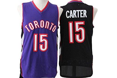 Black Purple Retro Jerseys Toronto Raptors Vince Carter #15 - Mens M