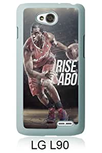 LG L90 Screen Case ,LA Clippers Chris Paul 2 White LG L90 Cover Fashion And Unique Designed Phone Case