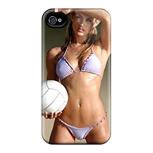 Hot Fashion VppNx7476mPfrw Design Case Cover For Iphone 4/4s Protective Case (volley Ball Player)