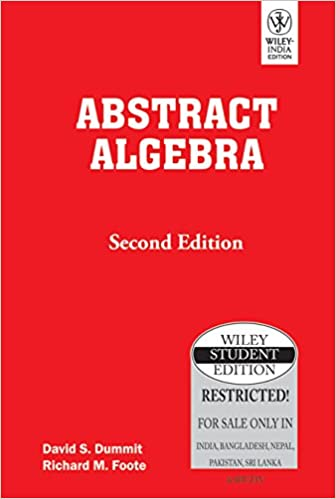Abstract Algebra Second Edition