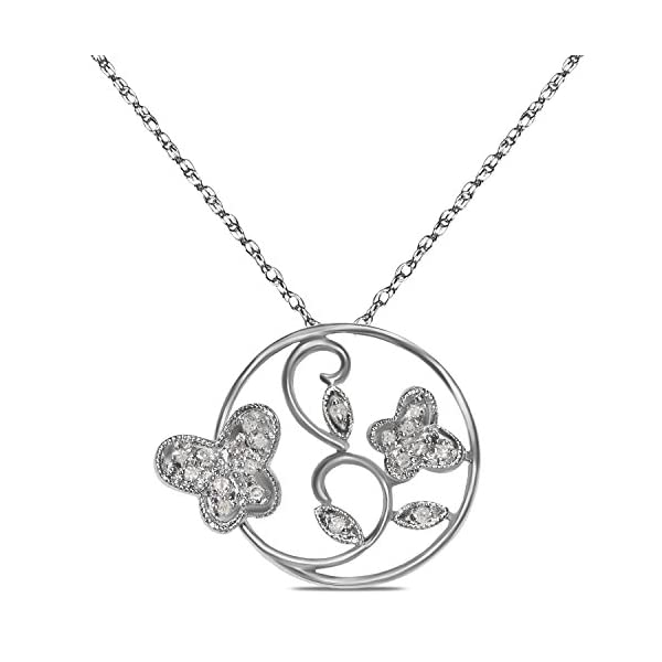 110cttw-10k-White-Gold-Circle-Butterfly-Pendant-with-Complimentary-18-Chain